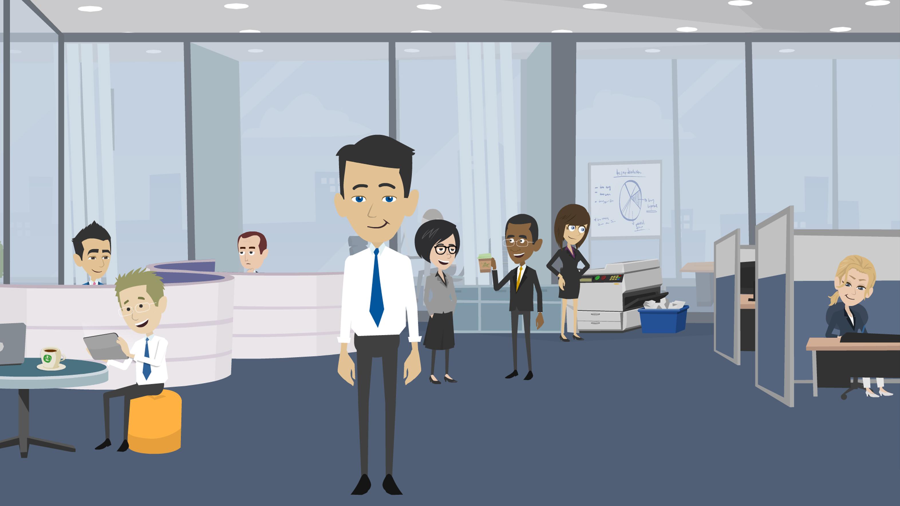 mark derho techsavvy nyc meeting room animated